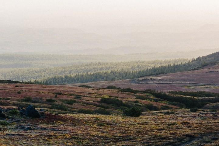 Лавовый поток вулкана Толбачик, гора Камень и Ключевская сопка (31)