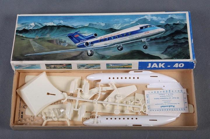 ГэДээРовские сборные модели самолётов (35)