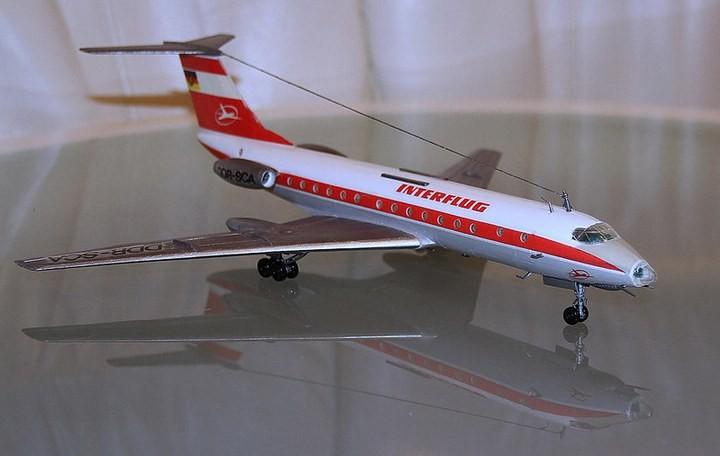 ГэДээРовские сборные модели самолётов (53)