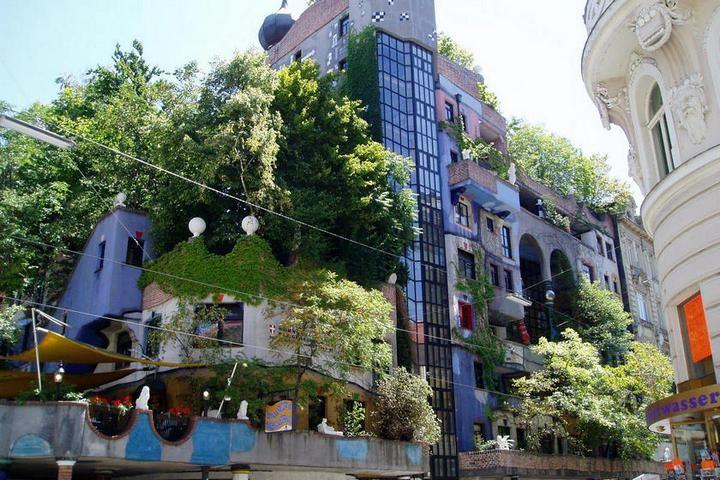 Необычный жилой дом в Вене (1)