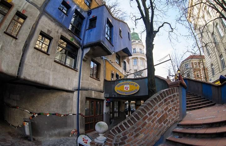 Необычный жилой дом в Вене (4)