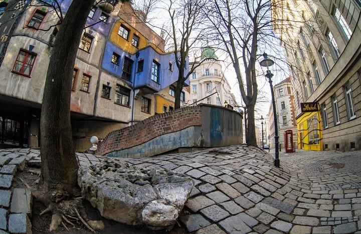 Необычный жилой дом в Вене (5)
