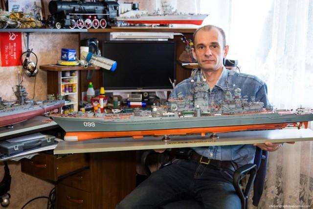 Потрясающие модели из бумаги от Алексея Рыжова (1)