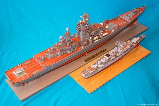Потрясающие модели из бумаги от Алексея Рыжова (13)