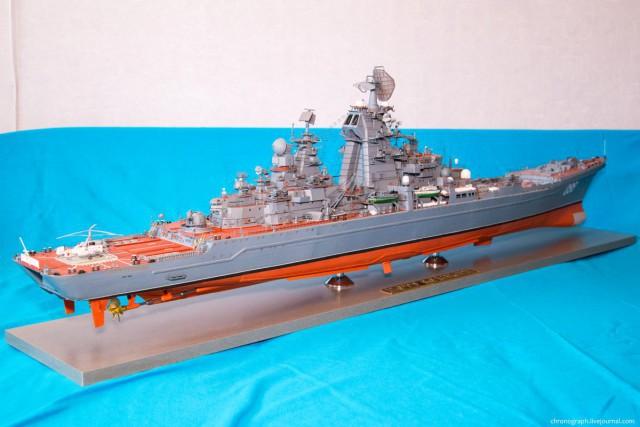 Потрясающие модели из бумаги от Алексея Рыжова (9)