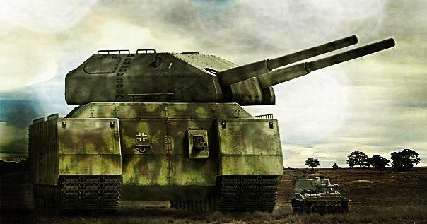 Немцы планировали создать самый большой танк в мире «Крыса»