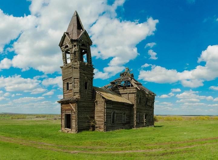 Деревянная церковь Архангела Михаила (1)
