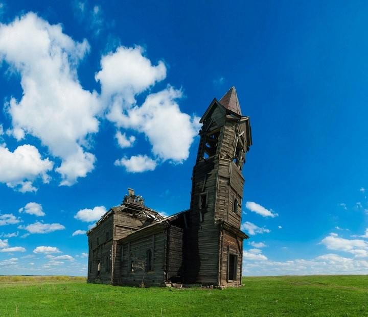 Деревянная церковь Архангела Михаила (4)