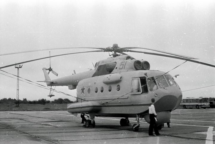 Вертолет-амфибия Ми-14 (2)