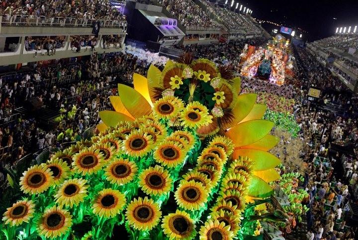 Бразильский карнавал — удивительное зрелище! (5)