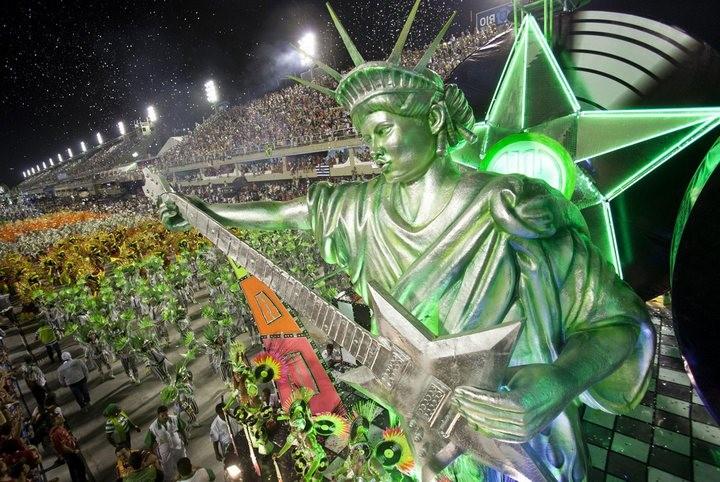 Бразильский карнавал — удивительное зрелище! (8)