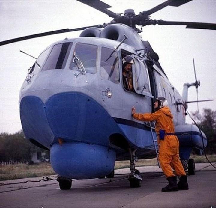 Вертолет-амфибия Ми-14 (22)