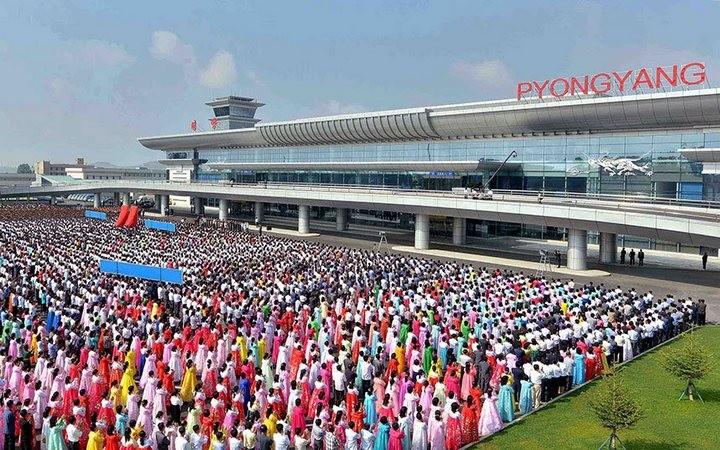 Ким Чен Ын на открытии нового терминала в аэропорту в Пхеньяне (2)