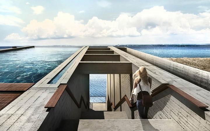 Уникальный дом в скале с восхительным видом на море (5)