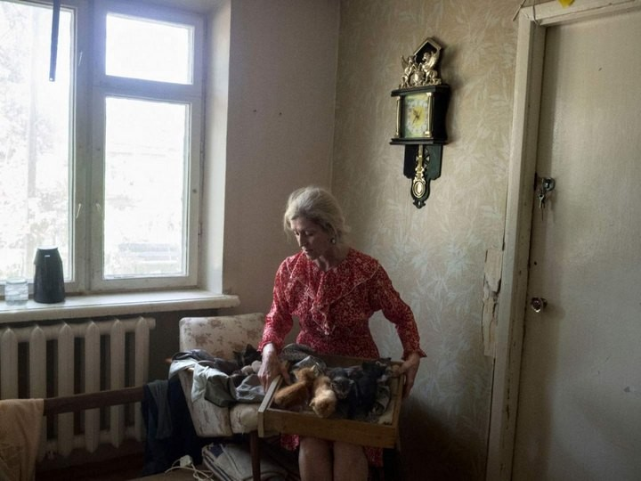 Прифронтовой украинский город Мариуполь (6)