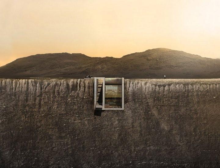 Уникальный дом в скале с восхительным видом на море (6)