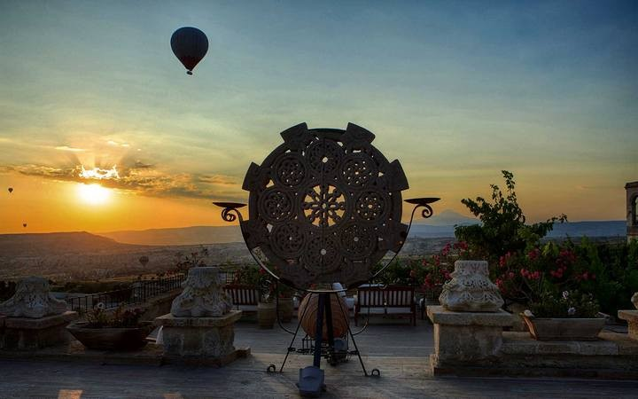 Museum — пожалуй самый необычный отель в Турции (7)
