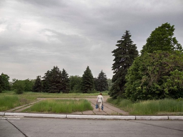 Прифронтовой украинский город Мариуполь (7)