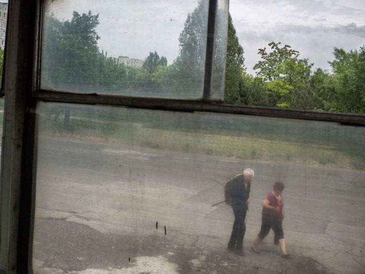 Прифронтовой украинский город Мариуполь (8)