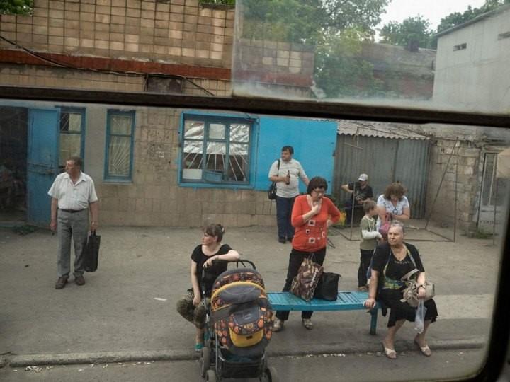 Прифронтовой украинский город Мариуполь (9)