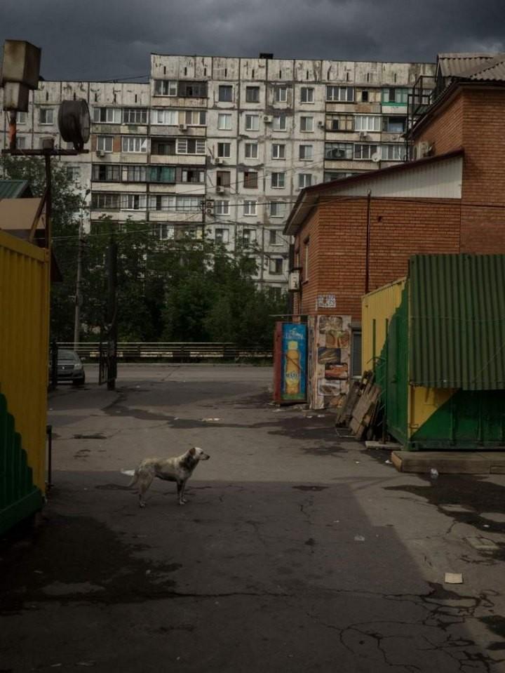 Прифронтовой украинский город Мариуполь (16)