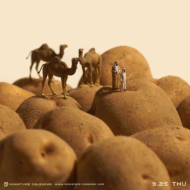 Креативные миниатюры от японца Танака Тацуя (14)