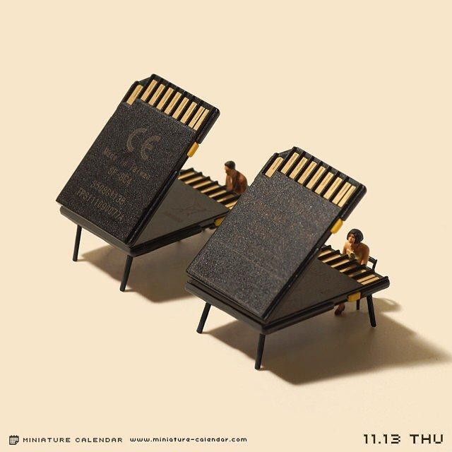 Креативные миниатюры от японца Танака Тацуя (13)