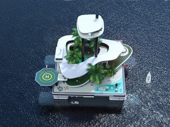 передвижные частные острова (2)