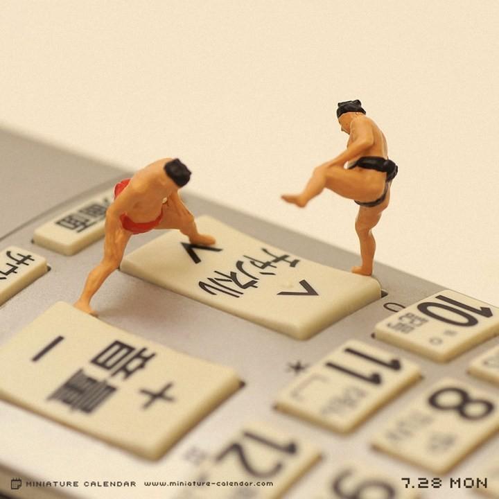 Креативные миниатюры от японца Танака Тацуя (4)