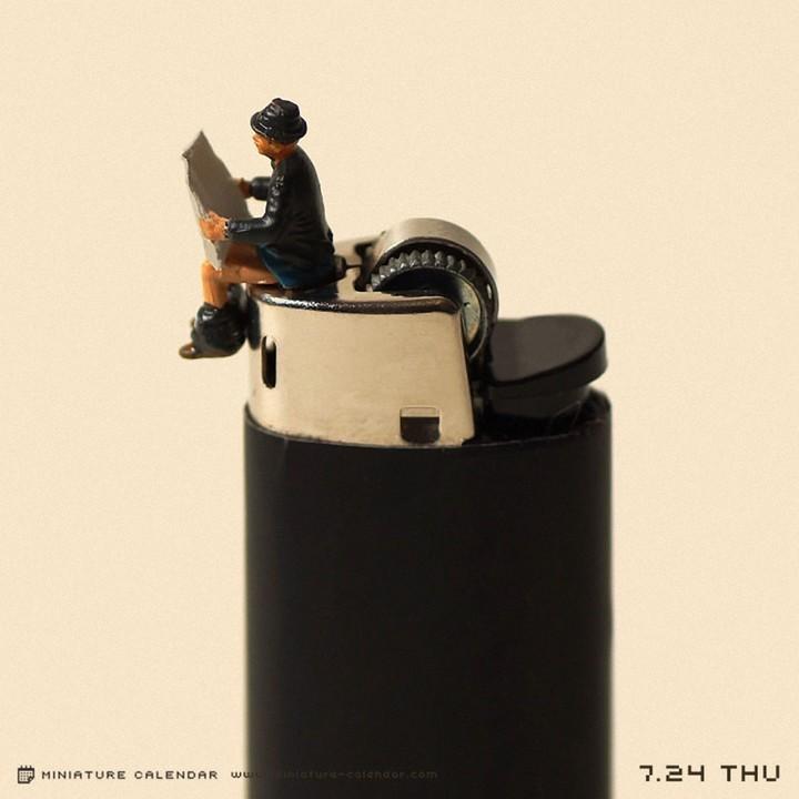Креативные миниатюры от японца Танака Тацуя (3)