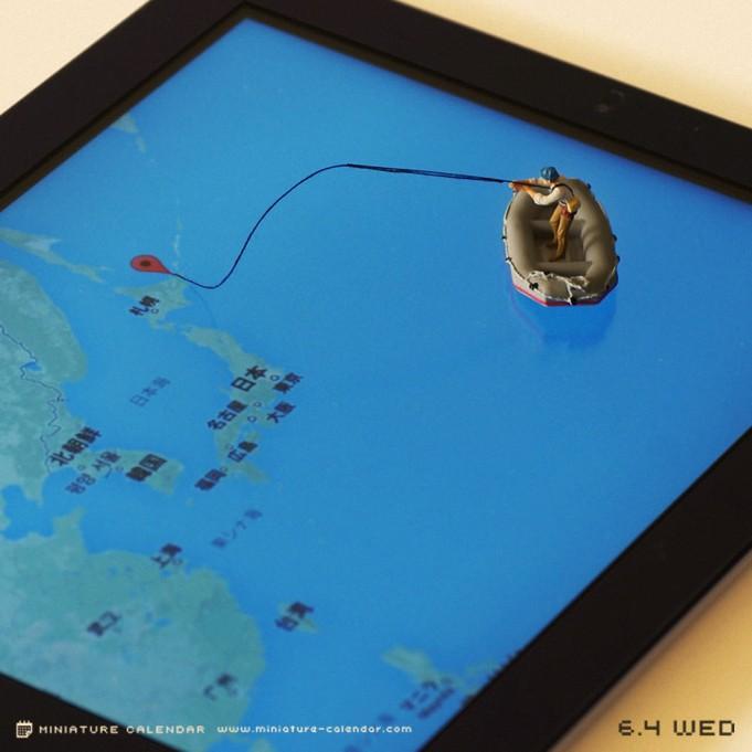 Креативные миниатюры от японца Танака Тацуя (7)