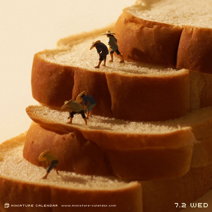 Креативные миниатюры от японца Танака Тацуя (1)