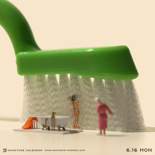 Креативные миниатюры от японца Танака Тацуя (9)