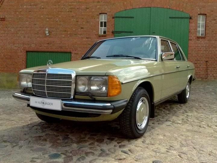 Абсолютно новый, законсервированный Mercedes-Benz E-class W123 1984 года выпуска... (1)