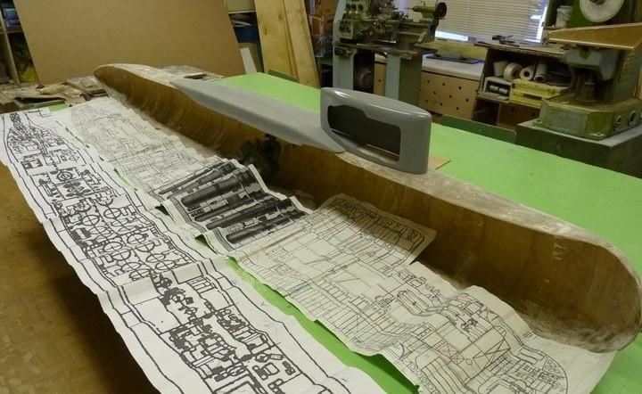 """Модель атомной подводной лодки 667-А """"Навага"""" в масштабе 1:50 (3)"""