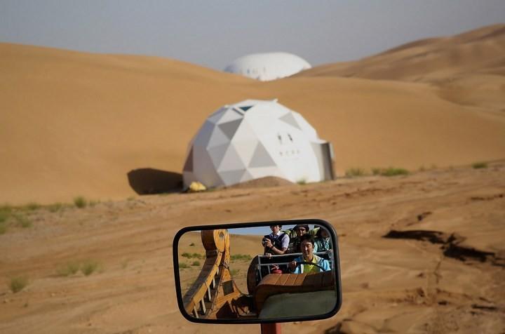 Песчаный Лотос — удивительный отель в пустыне (6)