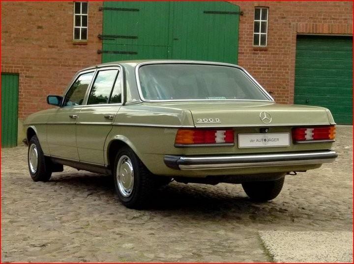 Абсолютно новый, законсервированный Mercedes-Benz E-class W123 1984 года выпуска... (7)