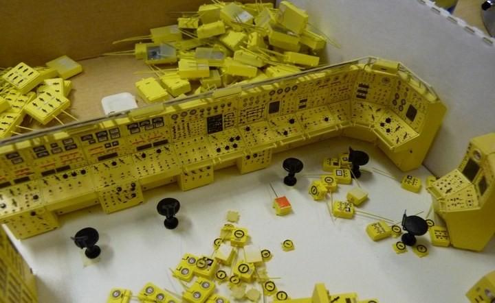 """Модель атомной подводной лодки 667-А """"Навага"""" в масштабе 1:50 (8)"""