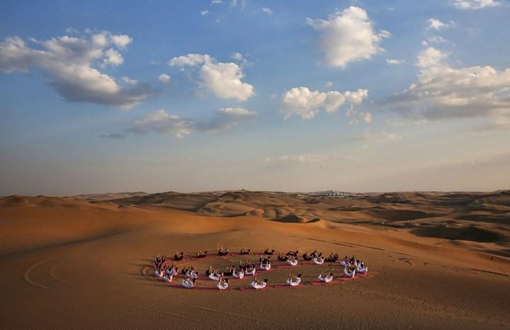 Песчаный Лотос — удивительный отель в пустыне (8)