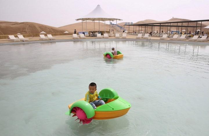 Песчаный Лотос — удивительный отель в пустыне (12)