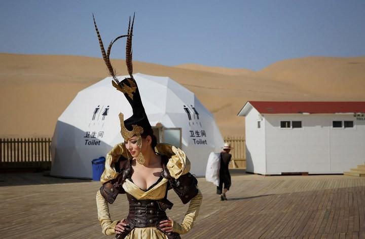 Песчаный Лотос — удивительный отель в пустыне (14)