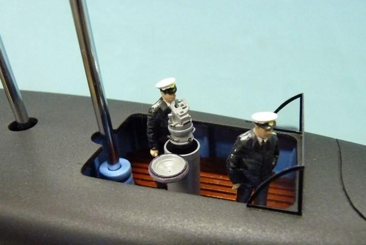 """Модель атомной подводной лодки 667-А """"Навага"""" в масштабе 1:50 (19)"""