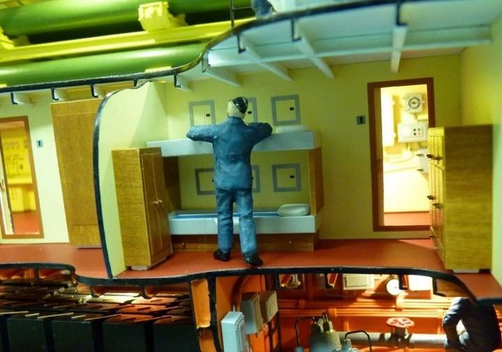 """Модель атомной подводной лодки 667-А """"Навага"""" в масштабе 1:50 (23)"""