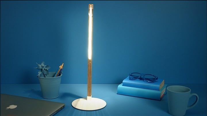 Удивительная плоская лампа дающая иллюзию объема (11)