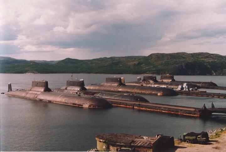 «Акула» — cамая большая подводная лодка в мире (12)