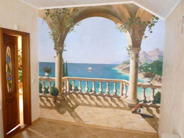 Художественная живопись в интерьер – это всегда красиво и модно! (4)
