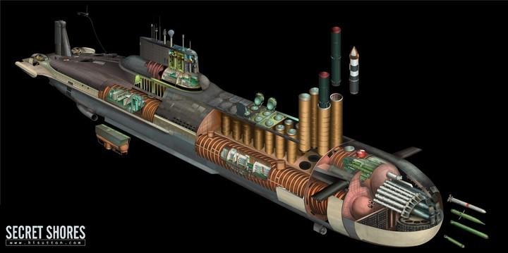 «Акула» — cамая большая подводная лодка в мире (4)