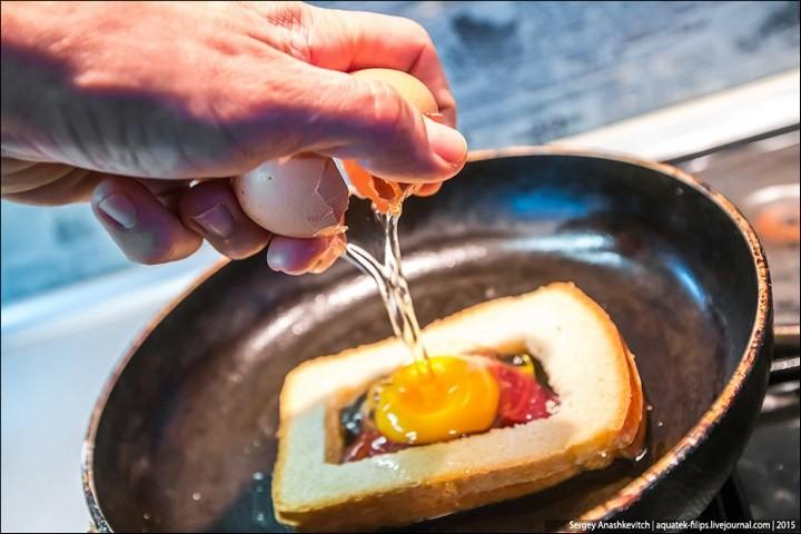 Яйцеброд — просто, быстро, вкусно (6)