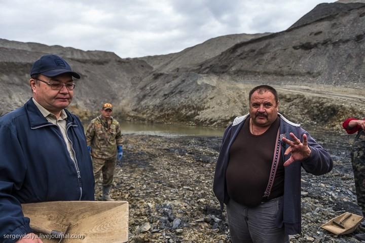 Как добывают золото на Колыме (25)