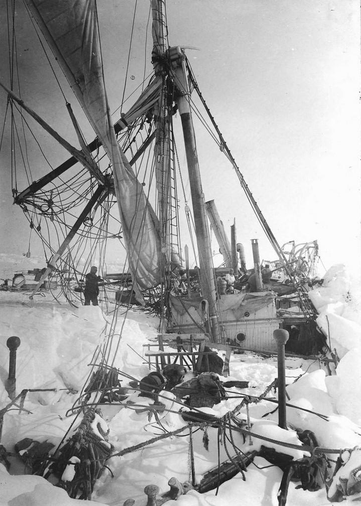 «Эндьюранс», или История выживания 28 человек среди льдов Антарктики (41)